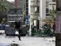 Dos muertos dejó jornada de desórdenes en Bogotá