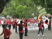 Estudiantes de Girardot marcharon por la educación