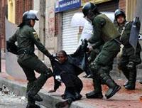Disturbios en Bogotá y Soacha dejan pérdidas que superan los 3 mil millones de pesos
