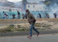 Violentos intentan generar caos en San Mateo