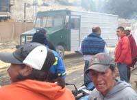 Campesinos de Soacha desbloquean vía al corregimiento uno