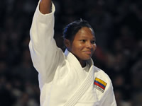 Medalla de oro para deportista Colombiana