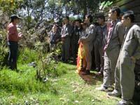 Educación ambiental para los líderes comunales de Soacha