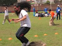 'Colegio al Parque', recreación, deporte e integración para los estudiantes de Soacha