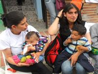 Con éxito se desarrolla semana  de lactancia materna en Soacha