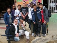Con rap, los jóvenes se toman San Carlos