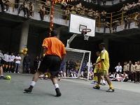 Torneo de fútbol en la cárcel distrital