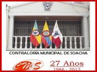 Contraloría de Soacha se reúne con medios de comunicación en su aniversario No. 27