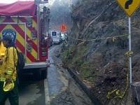 Controlado  incendio forestal en la vía a La Calera