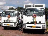 Vehículos compactadores para 24 municipios de Cundinamarca