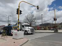 Confusión por instalación de los nuevos semáforos de Soacha
