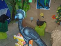 Niños de San Mateo reviven  aves del mundo