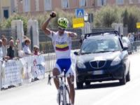 Ciclista soachuno obtiene triunfo en Europa