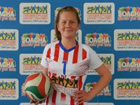Voleibolista soachuna  representa al país en Brasil