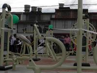Zipaquirá entrega nuevos parques biosaludables