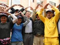 Presidente Santos lideró en Soacha sorteo de  viviendas de interés prioritario para 709 familias