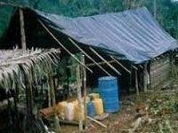 Desmantelado laboratorio de coca en Ubalá