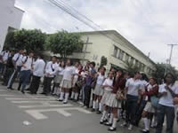 Rectores encabezan manifestación educativa en Zipaquirá