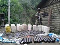 En Chipaque incautan detonadores para explosivos