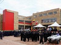 Bomberos de Bogotá estrenan moderna sede