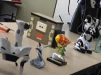 Muestras de robótica en el mes TIC