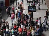 Gran afluencia de viajeros durante puente festivo