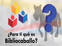 Bibliocaballo recorre calles de San Bernardo