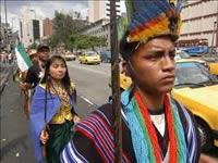 Indígenas anuncian marcha nacional el próximo martes