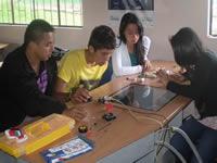 Estudiantes de Pacho participarán en feria robótica Chilena