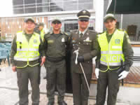 Soacha recibe nuevos auxiliares bachilleres de Policía