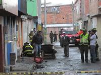 Fuerte explosión  deja tres personas muertas en Soacha