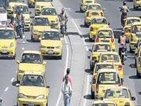 Diplomados gratuitos para taxistas de Bogotá
