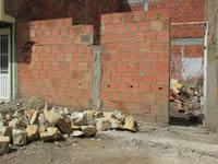 En Villa Sofía I trabajan para construir su salón comunal