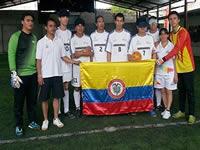 Cundinamarca, campeona en torneo de fútbol para invidentes