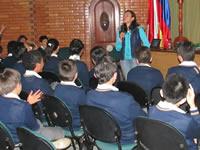 Sensibilización sobre el consumo de drogas y matoneo en el ITLA