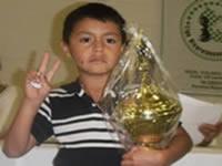 Niño soachuno representará a Colombia en torneo sudamericano de ajedrez
