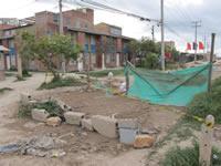 Comunidad de Hogar del Sol  cerró las vías de su barrio