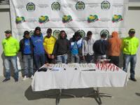 Banda que se hacía pasar por Los urabeños fue capturada en Soacha