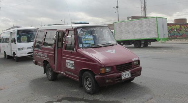 No hay paro en Soacha pero el transporte es escaso