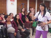 Marca Pequeñín realizó charla pedagógica a gestantes de la ESE
