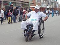 Se realizó en Soacha  IV Carrera Atlética y Ciclística diversamente hábil