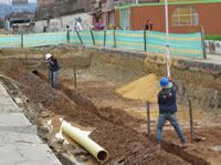 Inquietud en el barrio La Despensa por obra en la vía paralela