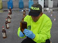 Desarticulan bandas dedicadas a fabricar licor adulterado