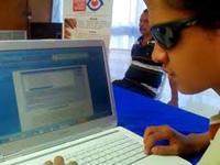 Web distrital  más accesible a discapacitados visuales