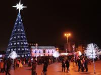 Soacha prendió la navidad en la noche de velitas