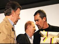 Antonio Banderas, protagonista de la primera película beneficiada con la ley de cine
