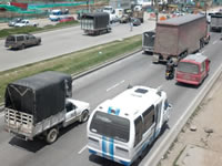 Comunidad del Rincón de Santafé amenazó con tomarse la Autopista Sur en Soacha
