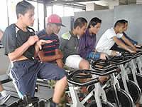 Actividad física para recuperar a los jóvenes farmacodependientes