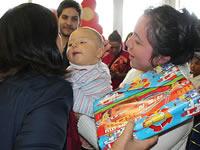 Teletón  adelantó la navidad a los niños del Centro de Soacha