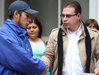 Alcaldía entregó gimnasio a jóvenes barristas de Millonarios y Santafé